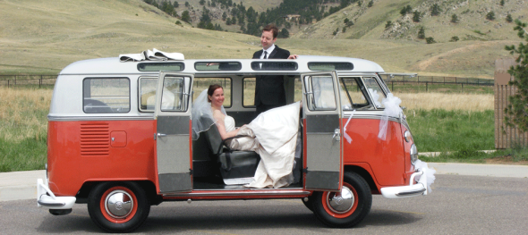 Hippie Limo - Bride and Groom - Relaxing - Boulder Community Foothills Park