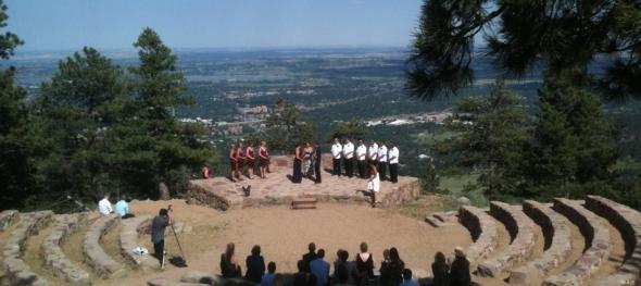 Amy & Tim Wedding - Sunrise Amphitheater - Boulder, CO - 7/1/2011