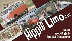 Hippie Limo Business Card - Front