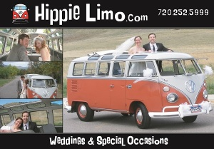 Hippie Limo Postcard - Front