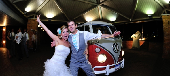 Kendra & Justin's Wedding: Crooked Willow Farms - Dancing in the Streets - The Hippie Limo