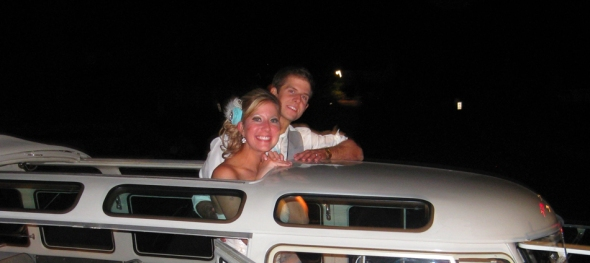 Kendra & Justin's Wedding - Taking a Breath - Crooked Willow Farms - The Hippie Limo