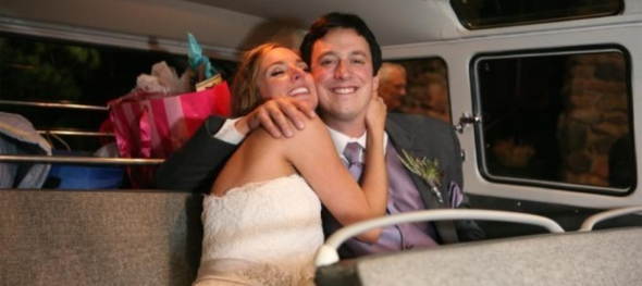 Lana & Allen's Wedding: Mount Vernon Country Club - Cheek to Cheek - The Hippie Limo