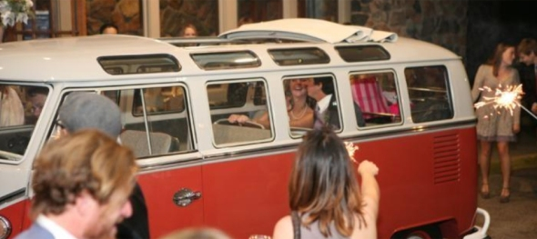 Lana & Allen's Wedding: Mount Vernon Country Club - Ready to Roll - The Hippie Limo