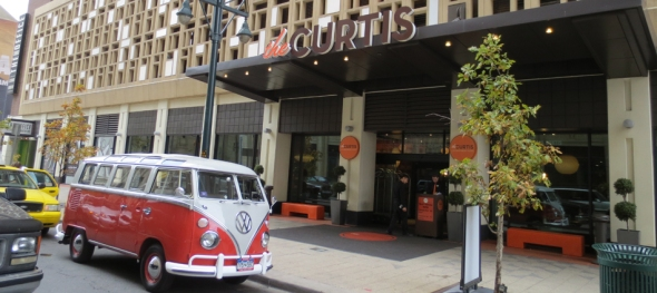 The Curtis Hotel - Downtown Denver - The Hippie Limo