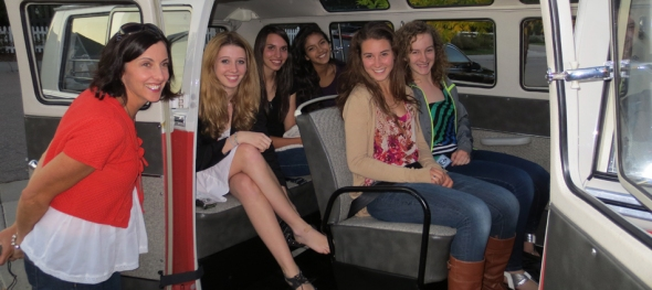 Juliet's Sweet 16 Birthday - Ready to Roll - The Hippie Limo