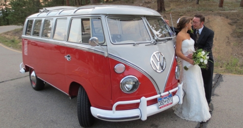 The Hippie Limo - A 1965 VW Microbus Limo - Weddings, Tours & Special Occasions - Denver & Boulder Colorado