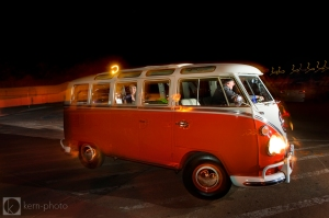 Cat & Tim's Red Rocks Wedding - The Hippie Limo
