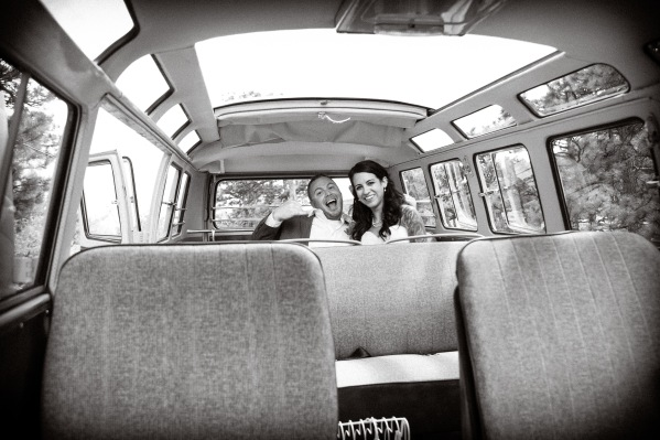 The Hippie Limo - Beth Photography - Ready to Ride - Melissa & Paul's Wedding